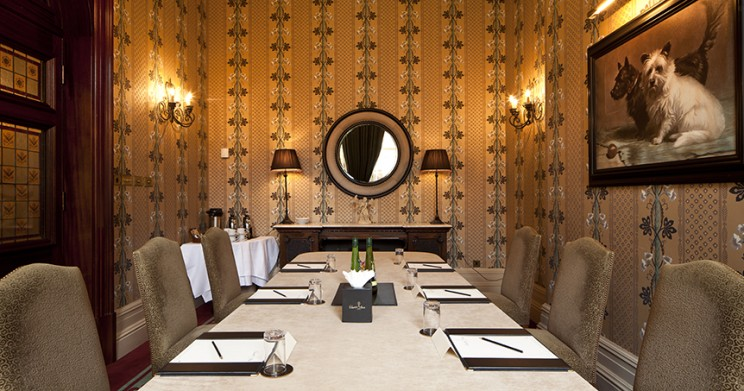 Exceptional excellence in The Byron Room