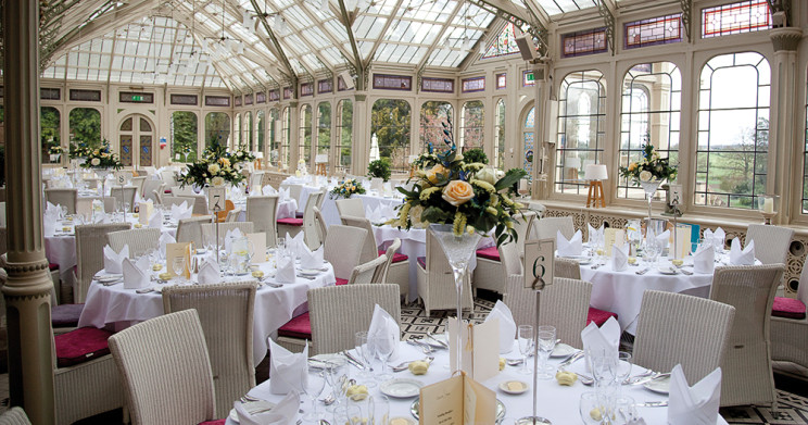 Wedding Receptions - Light and airy surroundings of The Orangery