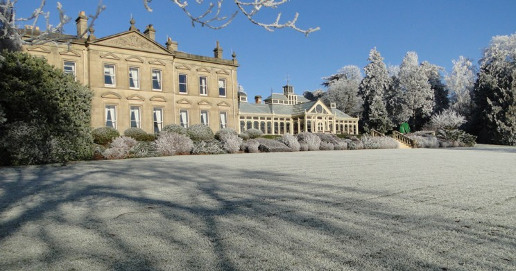 A winter wonderland at Kilworth House