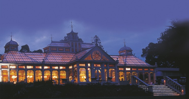 The Orangery at night
