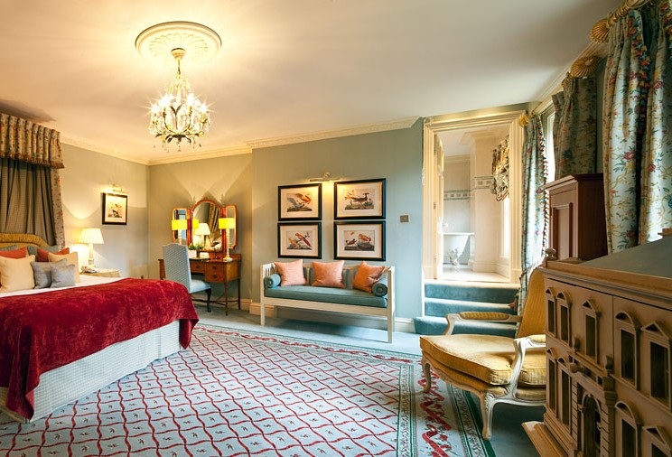 Relax in our beautiful period bedrooms