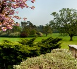 Views from the terrace at Kilworth House Hotel