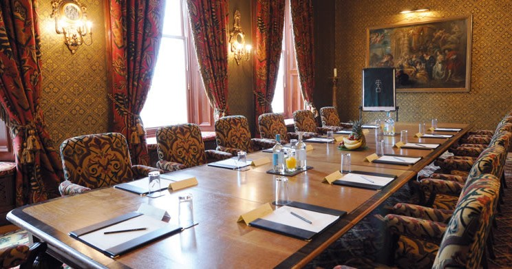 Conduct business meetings in style in the Shakespeare Room