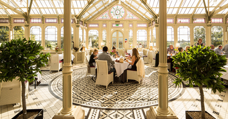 Dining in The Orangery