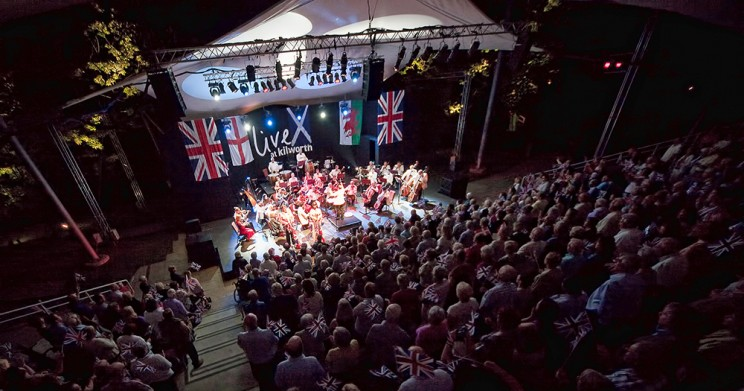 The Last Night of the Proms at Kilworth House Theatre