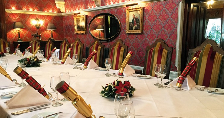 Christmas Private Dining in The Wordsworth Restaurant