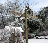 Winter in the grounds of Kilworth House Hotel