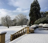 Winter view from The Terrace at Kilworth House Hotel