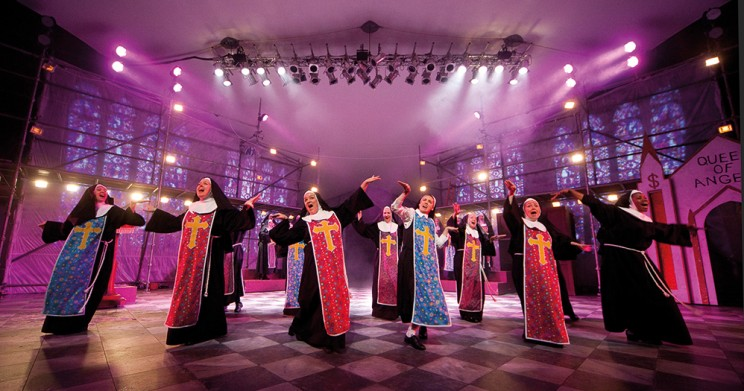 Sister Act at Kilworth House Theatre