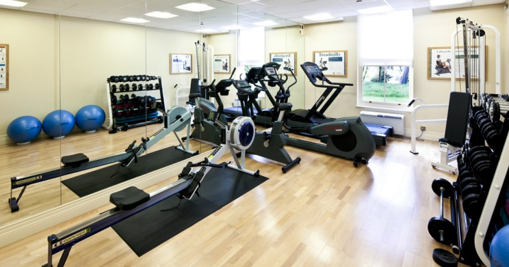 Feel the burn in our deluxe fitness room