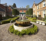 Fountain in the Courtyard at Kilworth House Hotel